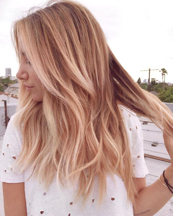 https://www.instagram.com/p/BFDI9xowaLF/ Screengrab of Ashley Tisdale's instagram of her new rose gold hair color 5/6/16 Source: Ashley Tisdale/Instagram