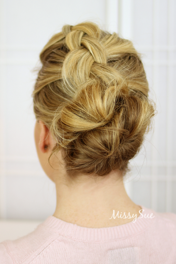 dutch-braid-to-bun