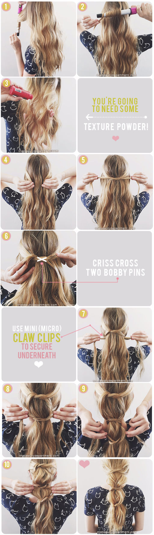 messy-knotted-ponytail-tutorial