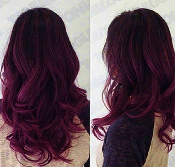 Red-Purple-Ombre-Hair-Color-Idea-for-dark-hair.-new-choice-of-dye-purple-hair