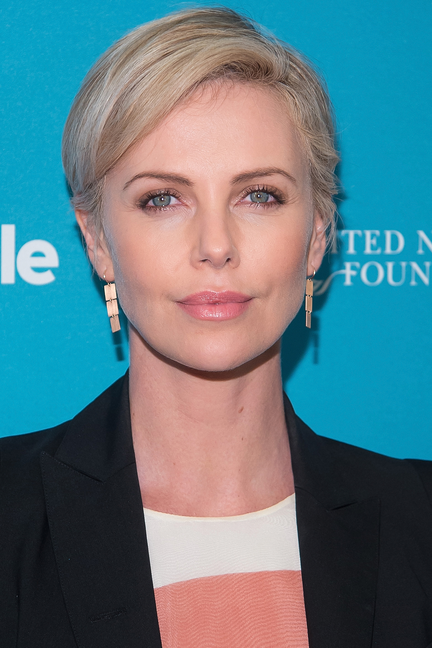NEW YORK, NY - SEPTEMBER 28:  Actress Charlize Theron attends the 2015 Social Good Summit - Day 2 at 92Y on September 28, 2015 in New York City.  (Photo by Michael Stewart/WireImage)